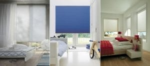 Duette energy saving blinds for heat reduction