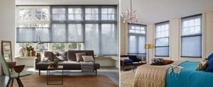 Duette energy saving blinds for heat reduction in the home