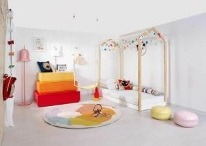 Colourful and fun child's bedroom